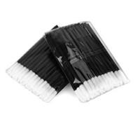 Wholesale disposable lip gloss applicators - Hot Sale 10x 100 Pcs Disposable Lip Brush Gloss Wands Applicator Makeup Cosmetic Tool Free Shipping
