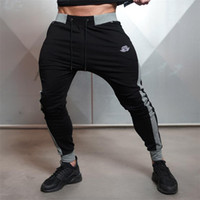 Wholesale Workout Cloths - Wholesale-New Arrivals 2016 Year Men's Body Engineers Workout Cloth Sporting Active Cotton Pants Men Jogger Pants Sweatpants Bottom Leggin