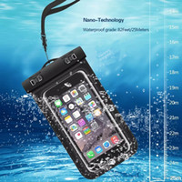 Wholesale Dive Phone - Waterproof Case for iPhone 7 6 6S Plus Dry Bag for Samsung S8 S7 S6 Edge Universal WaterProof Phone Case for Diving Swimming
