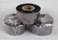 Wholesale Matrix Label - Ricoh D110C dedicated washing label barcode ribbon 30 * 300 resin matrix carbon belt