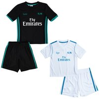 73023ff4a Boy Spring   Autumn Polyester Real Madrid Children football tracksuit 2017  Real Madrid kids soccer jerseys