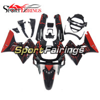 Wholesale Kawasaki Zzr Red - Injection Fairings For Kawasaki ZZR600 ZZR-400 ZZR600 93 94 95 96 97 Red Black ABS Motorcycle Full Fairing Kits Bodywork Cowling