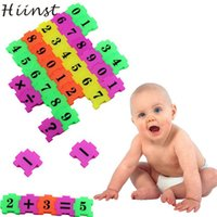 Wholesale Baby Best Sellers - Wholesale- HIINST Best seller 36Pcs Baby Child Number Symbol Puzzle Foam Maths Educational Toy Gift Educativos Jigsaw Puzzle wholesale S30