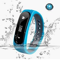 Wholesale Health Sport Watch Dhl - DHL E02 Smart Watches Smart Wrist Smartband Waterproof Bluetooth Fitness Tracker Health Bracelet Sports Wristband Gear Fit For Android IOS