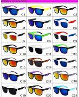 Wholesale Ken Block Plastic - 21 colors Style hot sale Spanish brand fashion vintage gafas of high quality for men & women sunglasses ken block sunglasses