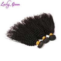 продажа виргинских кудрявых волос оптовых-Горячие продажи Индийский кудрявый вьющиеся волосы пучки 3 шт. лот бразильский перуанский малайзийский Virgin Remy волосы дешевые человека вьющиеся волосы ткет