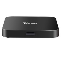 Wholesale Pandora Sold Wholesale - Hot Selling TX5 PRO Android 6.0 TV Box Amlogic S905X Quad Core 2GB 16GB 2.4 5G WiFi Bluetooth KD 17.1 Fully Loaded VS X96 MXQ PRO
