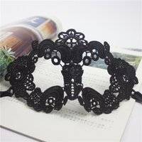 Wholesale Photography Props For Adults - Lace unshaped flat mask Hollowed out mask Half face veil sexy dance eye photography props taste