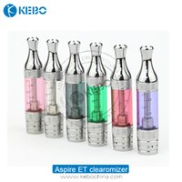 Autêntico aspire e Clearomizer Bottom Dual Coil 2.4ml Aspire ET tanque BDC clearomizer BT-S BVC, ce5 s ztomizers DHL grátis