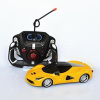 Wholesale Music Control Car Steering - Remote control car racing toy car steering wheel music gravity induction charging electric cars