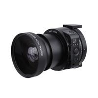 Wholesale Pc Full Hd - Wholesale-AMKOV OX5 4X digital 5X Optical Zoom Wifi Digital Camera Camcorder Mini Selfie Lens-style 20MP Full HD 1080P 30fps PC Camera