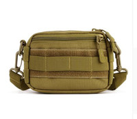 Wholesale Woodland Molle - Protector Plus Outdoor Woodland Tactical Utility MOLLE Hip Pack Pouch Outdoor Nylon Messenger Bag Military Waist Belt Bag