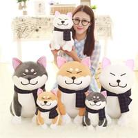 Wholesale Dog Cosplay - Shiba Inu Plush Dog Japanese Doll Toy Doge Dog Plush Cute Cosplay Gift 25cm