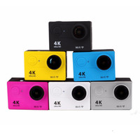 Wholesale lcd camera hdmi online - X3R k sport camera Action camera with remote control Ultra HD K WiFi HDMI P LCD D pro waterproof
