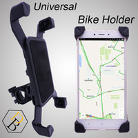 Wholesale Universal Mobile Phone Bike Stand - Bike Holder Black Bicycle Case for Mobile phone Travel Stand Universal Accessory Plastic Support with 360 Degree Rotation for Samsung iphone