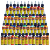 Wholesale Tattoo Color Ink Free - Solong Tattoo ink 50 Colors 1oz  Bottle 30ml creamsicle color Tattoo Pigment tattoo inks free shipping