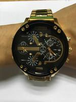 Wholesale Eyes Pins - 2017NEW Seven-Eye Black Calendar Large Watch Men's Watch, Sports Men's Watch 5.7 Big Dial, DZ7333 Fashion Watch Men's