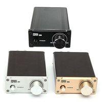 Wholesale Digital Audio Car Amp - Brand New US Standard EX2 20W x 2 Digital Audio Mini T-Amp Stereo Hi-Fi Car Amplifier CAU_107