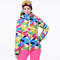 Wholesale Clothing Cheap Suit - Wholesale- Cheap Ski Suit Women Snowboard Clothes 10K Waterproof Windproof Thicken Warm Winter Outdoor Sports Costume Snow Suit Jacket+Pant