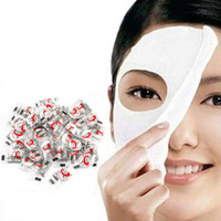 Wholesale Facial Mask Cotton - Hot Sale 100 pcs pack Compressed Facial Face Cotton Mask Sheet DIY Natural Skin Care Masque For Women Good Skin Treatment