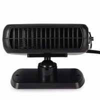 Wholesale 12v defroster fan - Portable 12V 150W Auto Car Fan Defroster Demister with Swing-out Handle Driving Enthusiasts Car-Styling Car Heater Heating Fan