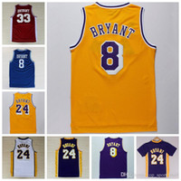 10af407b59c ... Lakers Wholesale 24 Kobe Bryant Jersey 8 Throwback High School Lower  Merion 33 Kobe Bryant Retro Shirt La ...