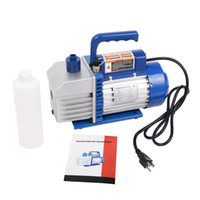 Wholesale Ac Pressures - Dual 2 Stage 4CFM 1 3HP Rotary Vane Deep Vacuum Pump HVAC AC Air Tool R410a R134