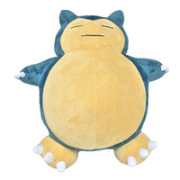 Wholesale stuffed animals for sale online - 2017 Hot Sale Snorlax quot cm Plush Doll Stuffed Toy Pikachu Animals For Baby Gifts