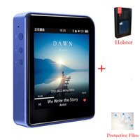 Wholesale 1gb Music Player - Wholesale- 2016 New Original Shanling M1 Portable Bluetooth DAP DSD Lossless HIFI Audio Music Player Mini Movement MP3 Player+Leather Case