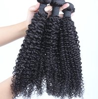 Brazilian Kinky Curly Hair 1 Piece Somente 100% Cabelo Humano Tecendo Remy Hair Bundles Natural Color Free Shipping