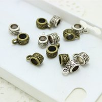 order patterns - Sweet Bell Min order mm two color Flower Pattern Bail small Beads Jewelry Making D0495