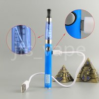 Wholesale Ecig Pass Through - Dab pen vape Starter kit Cheap eGo UGO V II 2 CE4 Blister kits wax vaporizer with ecig micro usb Pass Through Battery