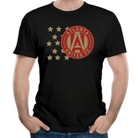 Wholesale Atlanta T Shirts - Atlanta United FC Patriotic new High Quality 100% Cotton men's T Shirt cheap sell Free shipping