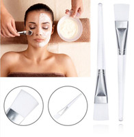 Wholesale white plastic face mask - Women Lady Girl Facial Mask Brush Face Eyes Makeup Cosmetic Beauty Soft Concealer Brush High Quality Makeup Tools