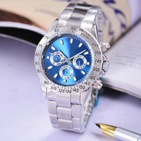 Wholesale Beautiful Gray - Very satisfied with the beautiful Automatic wrist watch Mechanical watches Stainless steel bracelet blue clock