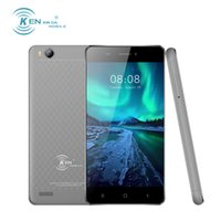 Wholesale 3g Camera Usa - KEN V5 4.0 inch RAM 1GB ROM 8GB Mobile Phone Android 6.0 SC7731C Quad Core Smartphone GPS 3G WCDMA Dual SIM Cell Phones Stock in USA