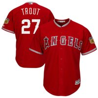 Baseball spring flex - Men s Los Angeles Angels of Anaheim Mike Trout MLB Scarlet Spring Training Cool Base Authentic Flex Base Player Jersey