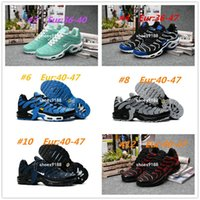 Wholesale Applique Material - New TN Air Shoes Men High Quality Running Shoes TN Nanotechnology KPU Material Classical Durable Air Sport Sneakers Size 36-47