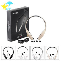 Wholesale Bluetooth Headset Wireless Mobile - 2016 New Universal Bluetooth Headset for iPhone Samsung HBS900 HBS 900 Wireless Mobile Earphone Headset