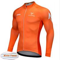 Wholesale Mountain Bike Long Sleeve - 2017 New Team STRAVA Men's Cycling Jersey Long Sleeve shirts Bicycle Cycling Clothing Mountain Bike Wear Outdoor Sportswear K1201