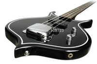 Wholesale Bass Bodies - Wholesale-Gene Simmons Punisher Electric Bass Guitar Mahogany Body Maple Neck Rosewood Fingerboard