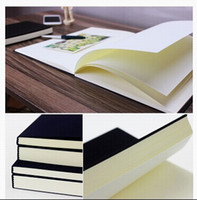 Wholesale Book Blank Pages - Wholesale- Free Shipping Vintage Dowling Paper Blank Pages Sketch Book Stationery Diary Book Student Gift Notebook