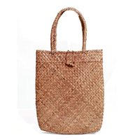 Wholesale large straw beach tote bags - Wholesale-2016 Women Handbags Straw Women Messenger Bags Summer Beach Bag Large Capacity Tote Bag Free Shipping DL0121t