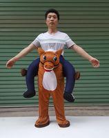 Wholesale Mascot Costumes Donkey - high quality fake legs pants donkey riding on mascot costume