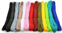 Wholesale Make Cord - 50m pc 2mm paracord one strand Parachute cord Cuerda Escalada Paracord for Bracelets Paracord rope For Jewelry Making