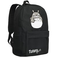 Wholesale Totoro School Backpack - Wholesale- backpack2016women canvas japanese school bag Totoro backpack cute anime sac a dos leisure travel feminine bagpack youth