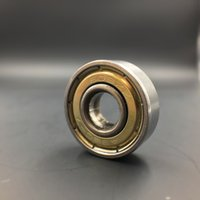 Wholesale Abec Skate Bearings Wholesale - 10PCS ABEC-7 Deep groove ball bearing 608ZZ Skate 8X22X7mm High-carbon Steel 608 ZZ