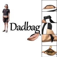 Wholesale Lifelike Men Toys - Funny 3D printed Dadbag Lifelike Muscle Fat Belly Pattern Nolvelty PU Pockets 1L Capacity Gadget for Boy Man