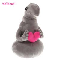 suicune plüsch großhandel-Hot Waiting Plüschtier Zhdun Meme Tubby Grau Blob Zhdun Hug Liebe Plüsch Puppe Spielzeug Homunculus Loxodontus