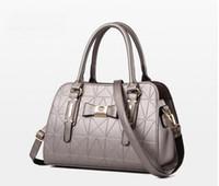 Wholesale Shell Korean - New fashion ladies handbag Korean version shell package simple Messenger bag shoulder bag